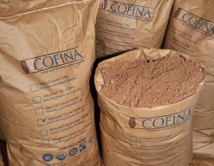 cocoa en polvo ensacada. 2