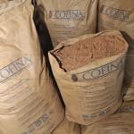 Polvo de cacao cofina